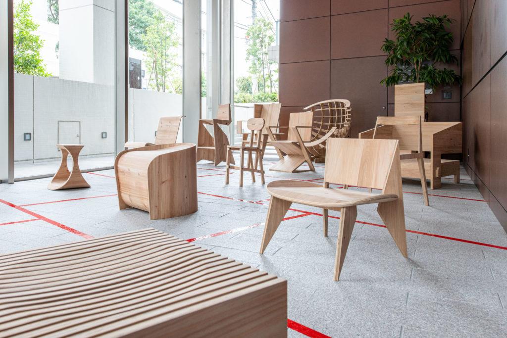 建築家の椅子展。