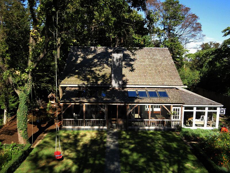 チャネル通信 第29回「森の中の木の家」